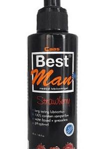 Cabs Best Man Su Bazlı Çilek Aromalı Kayganlaştırıcı Jel 150 ml