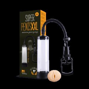 PENISXXL Penis Pompası Vakum Pompa Realistik Vajina Girişli Pump