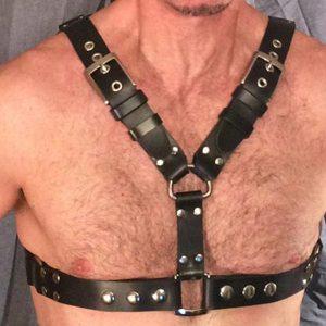 Erkek Erotik Giyim Deri Harness  APFTM22