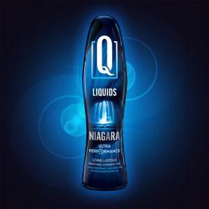 Q Liquids Niagara Silikon Bazlı Kayganlaştırıcı Jel